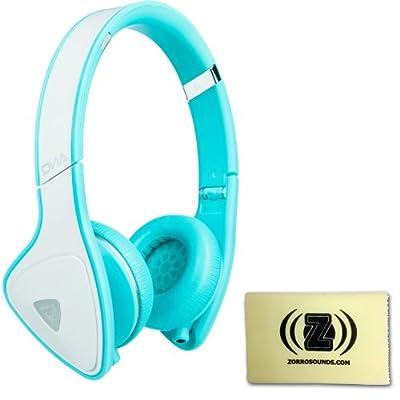 Monster DNA On-Ear Headphones (White/Teal)