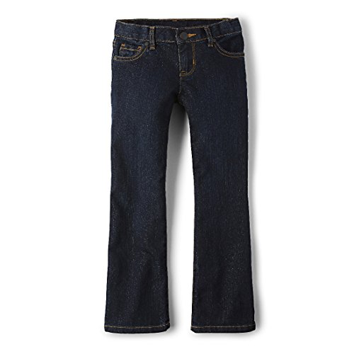The Children's Place Little Girls' New Bootcut Jean, Odyssey, 5