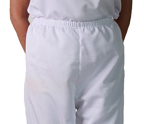 Making Believe Girls/Women's Basic Pioneer Peasant Costume Bloomers (Women's Medium 6/8, White) by Making Believe (Image #4)
