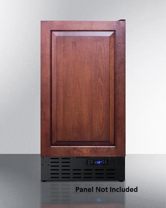 Summit SCFF1842IFADA Upright Freezer, Brown