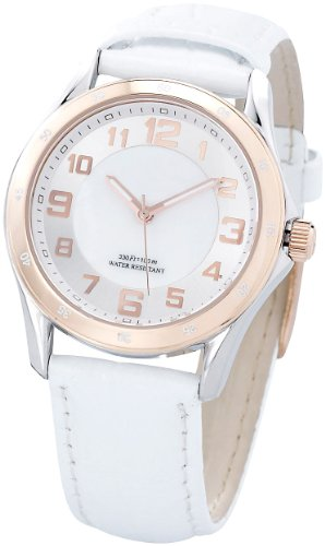 St. Leonhard SWISS MADE Damen-Armbanduhr wasserdicht, roségold