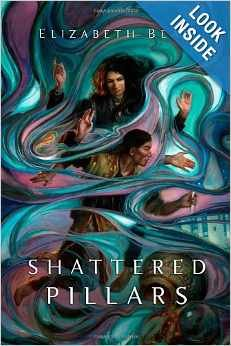 book cover of The Shattered Pillars