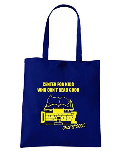 Speed Shirt Borsa Shopper Blu Navy FUN0945 CANTREADNAVY