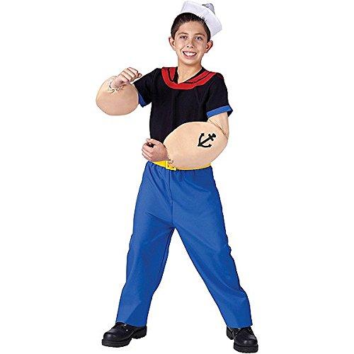 Popeye Costume - Medium (Baby Halloween Costumes Popeye)