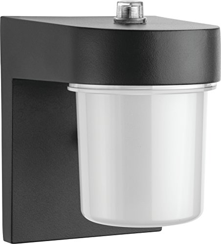 Bellacor Plastic Sconce - Lithonia Lighting OSC LED 120 PE BL M4 LED Entry Light, Black