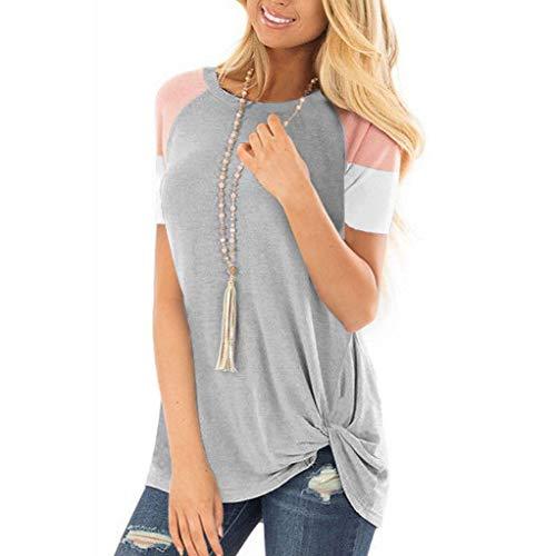 à manches T femmes Shirt shirt T pour courtes Jutoo fXInSTqxE
