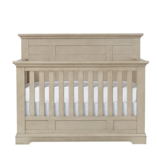 Centennial Chatham Flat Top 4 in 1 Convertible Crib Driftwood