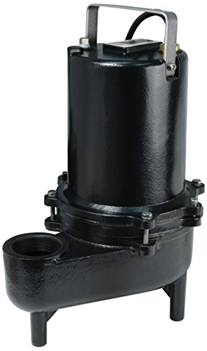 (ECO-FLO Products ESE50M Manual Cast Iron Sewage Pump, 1/2 HP, 7,800)