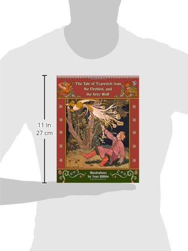 Tale of Tsarevich Ivan Firebird Russian Fairy Tales New Illustrated Hardcover Antyki i Sztuka