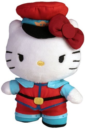 Toynami Hello Kitty M. Bison Mini Plush - Street Fighter M Bison Costume