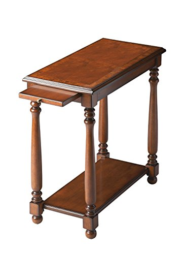 Butler Chairside Table, Brown
