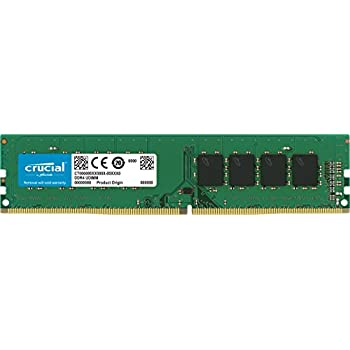 Crucial 8GB Single DDR4 2133 MT/s (PC4-17000) SR x8 Unbuffered DIMM 288-Pin Memory - CT8G4DFS8213