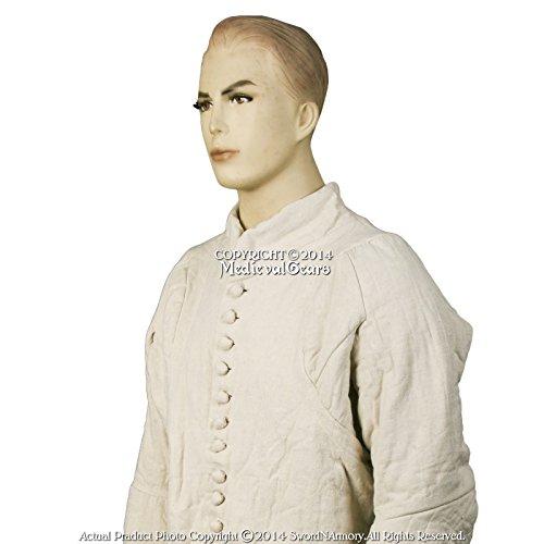 Medieval gear brand medieval 14th century Gambeson xxltype VI aketon Armor overcoat Reenactment Sca