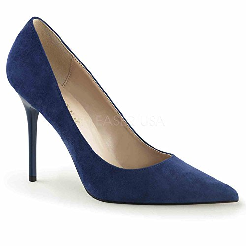 """Pinup Couture CLASSIQUE-20, 4"""" Pointed-Toe Women's Pump S..."""