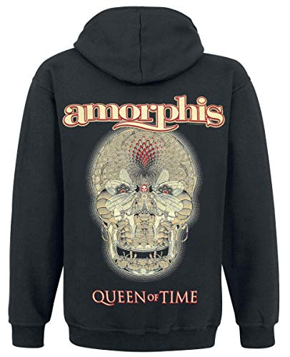 Queen À Noir Of Sweat Zippé Amorphis Time Capuche shirt FBdFqw