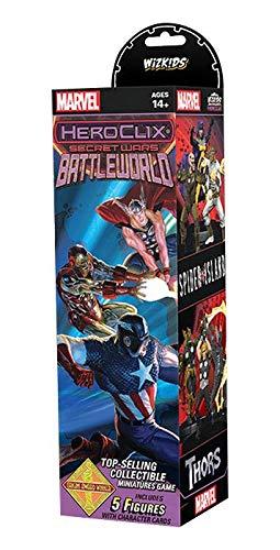 HeroClix Marvel Secret Wars - Battleworld Booster Brick from NECA