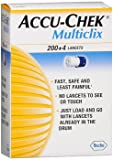 ACCU-CHEK Multiclix Lancets 204 Each (Pack of 4)