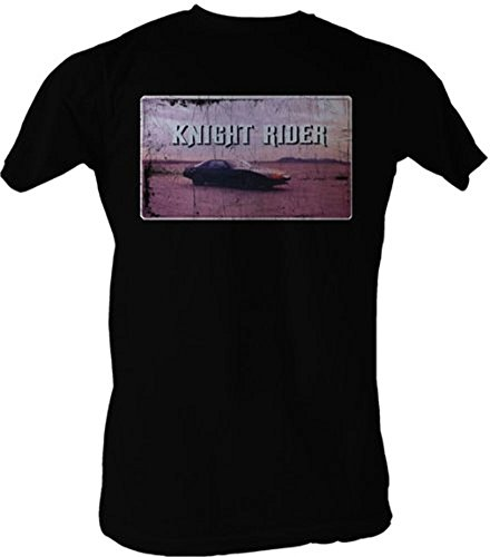 Knight Rider Opening Credits Adults T-shirt, small or large