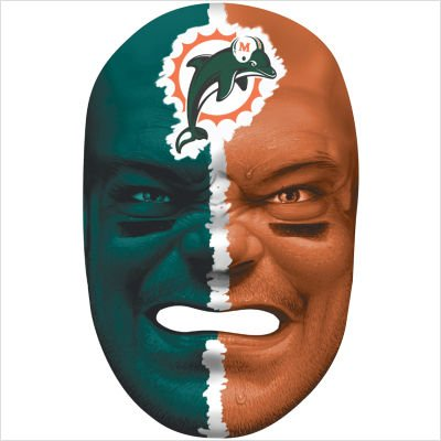 - Miami Dolphins NFL Fan Face
