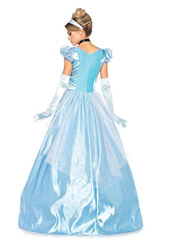 e293aed1a62c Leg Avenue - Costume per travestimento da Cenerentola, Donna, M: Amazon.it:  Giochi e giocattoli
