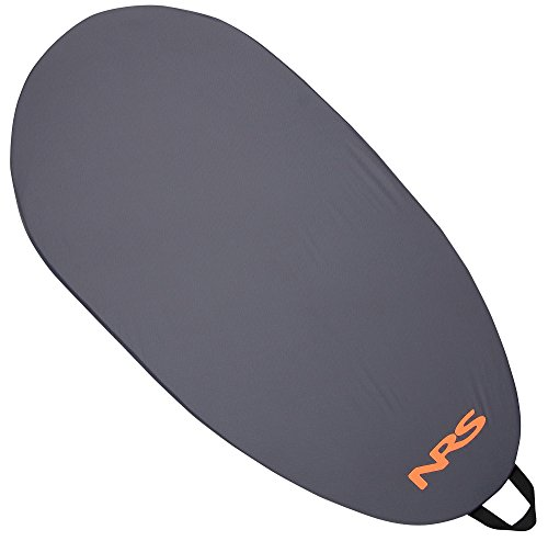 NRS Deluxe Cockpit Cover - Grey Large (Tandem Kayak Cockpit Cover)