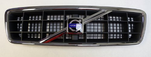Genuine Volvo 1999-2002 C70 1998-2000 V70XC Front Radiator Grille and Emblem - C70 Grille