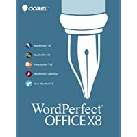 Corel WordPerfect Office X8 Home & Student 3-PC New! Product Key No DVD-Amazon seller/buyer message Delivery