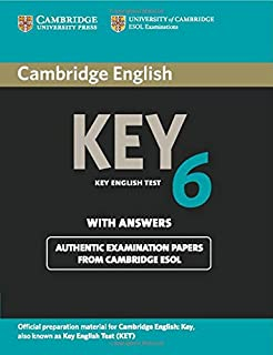 Cambridge English Key 7 Students Book with Answers KET Practice ...