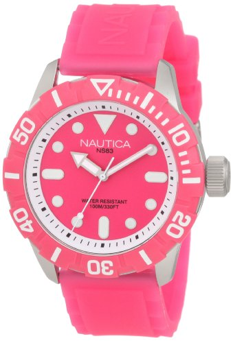 - Nautica Men's N09607G South Beach Jelly NSR - 100 Watch