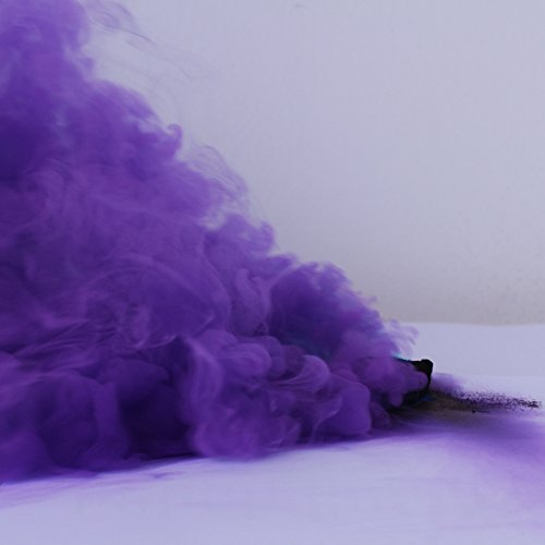 New Studio Photography Props Smoke Cake Tobacco Cigarettes Maker Pie Location for Advertising Studio Film Drama Exhibition 40 Seconds (Purple)