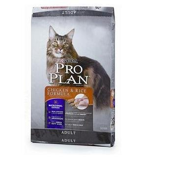 Pro Plan Total Care Adult Chicken and Rice Cat Food, My Pet Supplies