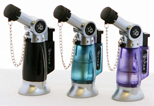 Torch Table Lighter - GStar® TorchZilla series Table Torch Lighter with Bendable Angled Head in Assorted colors