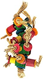 Planet Pleasures Caterpillar Foot Bird Toy, Small