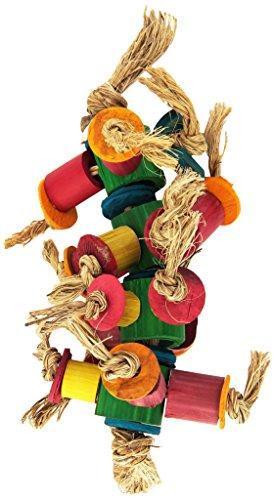 Planet Pleasures Caterpillar Foot Bird Toy, Small
