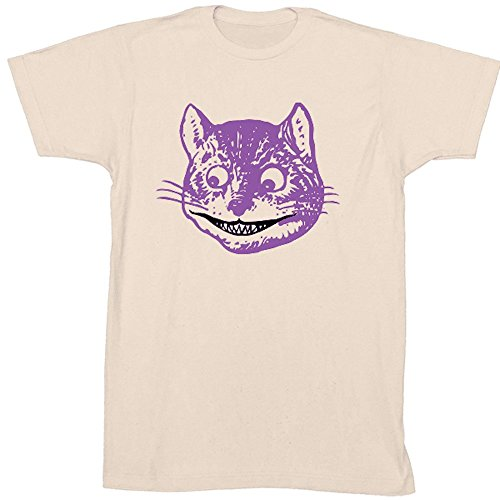 The Unemployed Philosophers Guild Light Activated Disappearing Cheshire Cat T-Shirt - Unisex - XL Off White