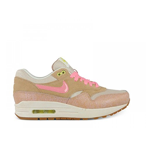 Nike Air Max 1 Suede and Mesh Pink Dusted Clay Trainer Size 9.5 UK free shipping looking for cheap sast top quality for sale discount 2015 2014 sale online f9NcgC4yiY