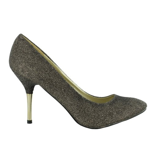 Footwear Sensation - Sandalias de vestir de sintético para mujer negro - Black Gold