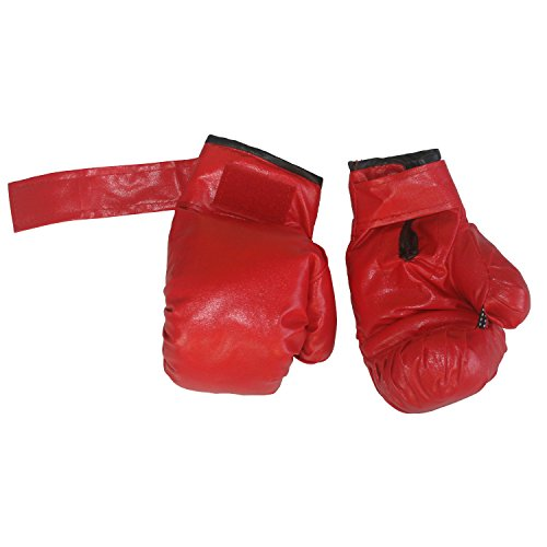Adjustable Free Standing Punching Speed Ball Bag with Boxing Gloves by Hongwu