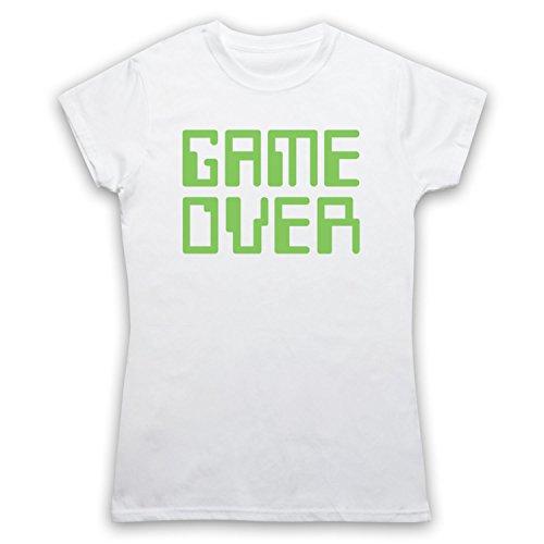 Game Over Hipster Camiseta para Mujer blanco