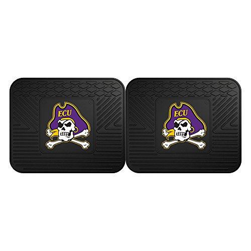 NCAA East Carolina University Backseat Utility Mat (2 Pack), 14