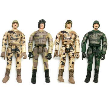 4Pc WPL Simulate Action Figure Soldier Doll 10cm Random Delivery RC Car Parts - RC Toys & Hobbies RC Car Parts