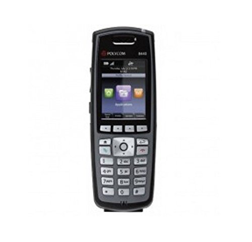 Spectralink 8440 Black Handset Without Lync Support, Battery and Charger Sold Separately - Part Number 2200-37148-001 by Spectralink