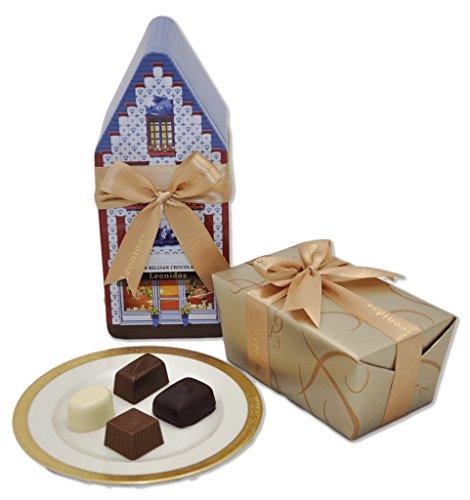 Leonidas Tin House Gift Box (Leonidas Pralines)