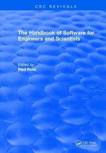 Revival: The Handbook of Software for Engineers and Scientists (1995) (CRC Press Revivals)-cover