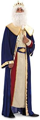 Disfraz o traje de Rey Mago Melchor de hombre talla M-L: Amazon.es ...