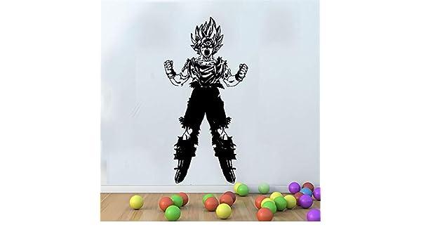 Neymar Stickers Games Anime Dragon Ball Z Goku Art Decor Juego ...