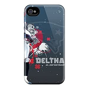 Anti-scratch And Shatterproof New England Patriots Phone Case For Iphone 4/4s/ High Quality Tpu Case