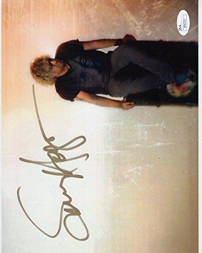 SAMMY HAGAR AUTOGRAPHED 8x10 COLOR PHOTO+JSA VAN HALEN RED ROCKER (Red Rocker Sammy Hagar)