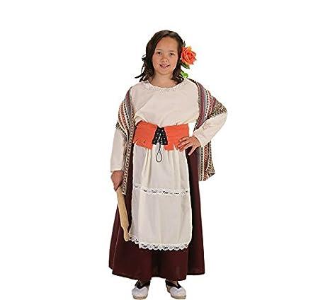 8ae953ebdd Disfraz de Panadera medieval para niña  Amazon.es  Juguetes y juegos