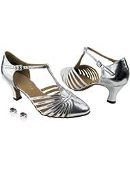 Very Fine Ladies Women Ballroom Dance Shoes EK6829 With 2.5 Heel